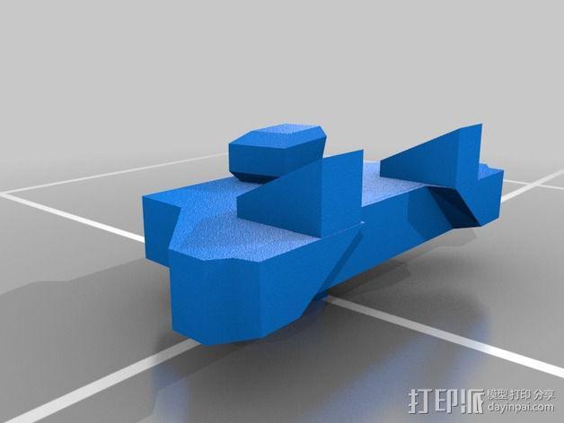 捕食者坦克 3D模型  图11