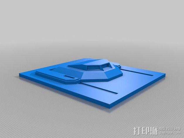 捕食者坦克 3D模型  图13
