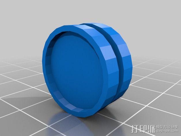 捕食者坦克 3D模型  图14
