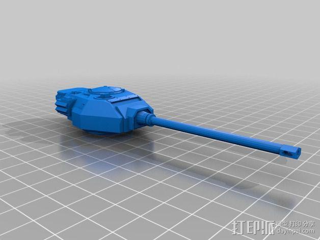 捕食者坦克 3D模型  图15