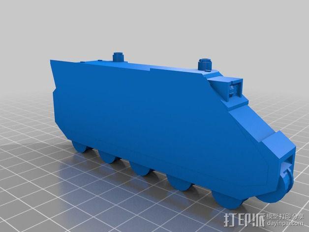 捕食者坦克 3D模型  图19