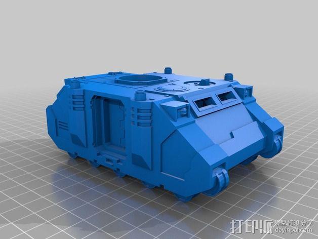 捕食者坦克 3D模型  图20