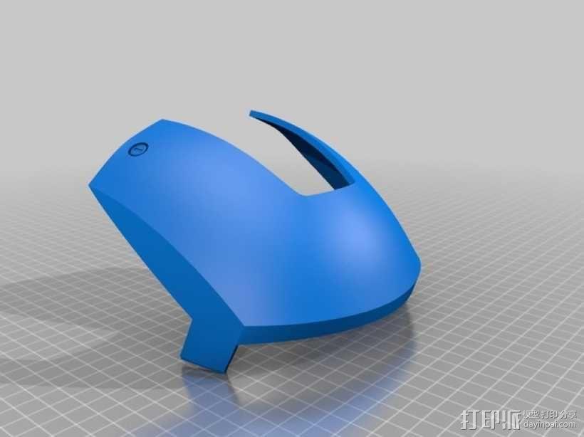 钢铁侠头盔 3D模型  图2