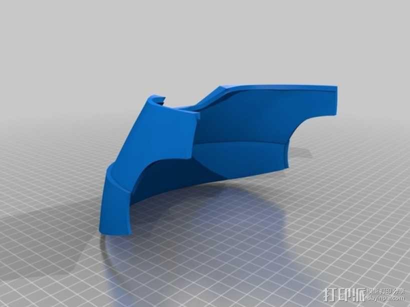 钢铁侠头盔 3D模型  图3