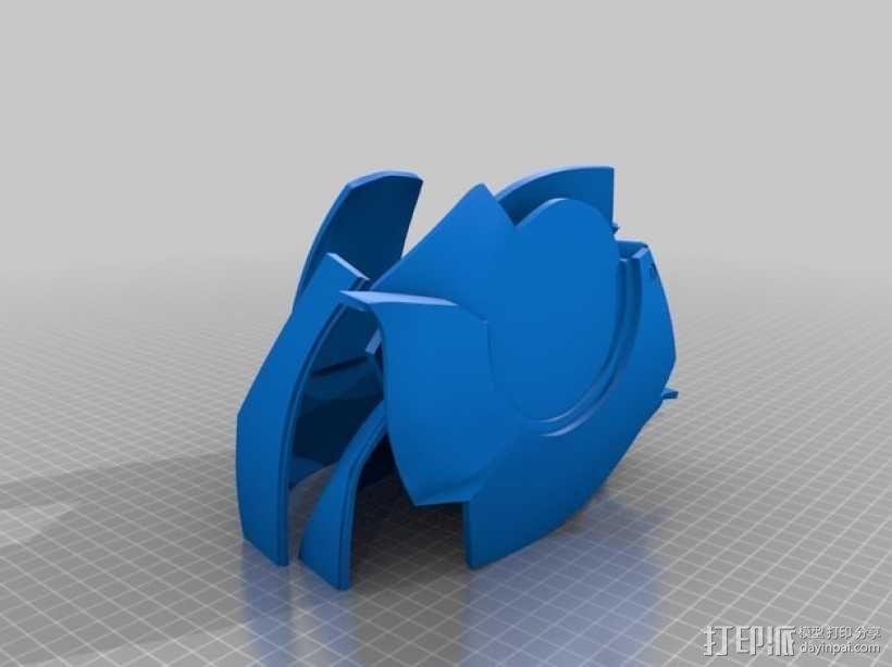 钢铁侠头盔 3D模型  图5