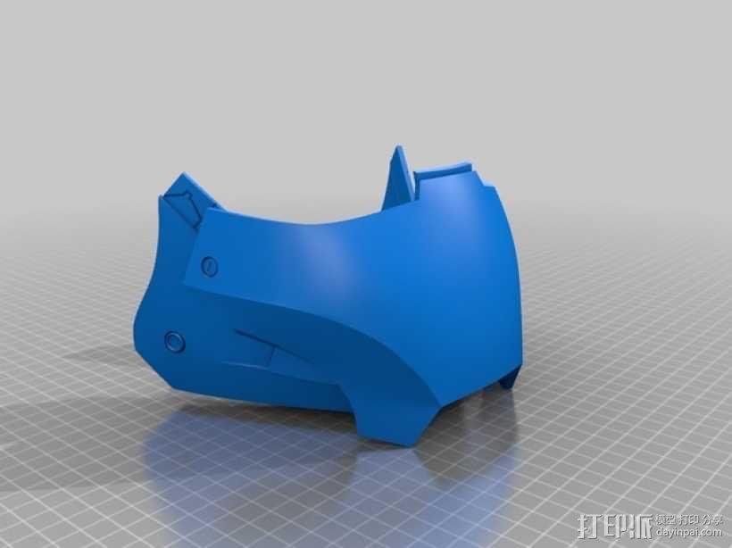 钢铁侠头盔 3D模型  图6