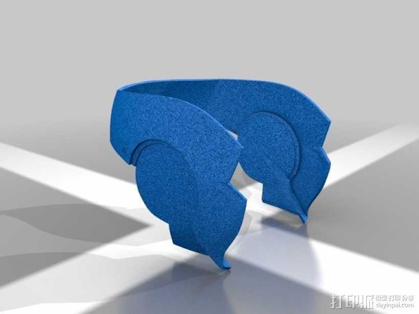 钢铁侠头盔 3D模型  图8