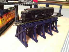 高架桥 火车道 3D模型