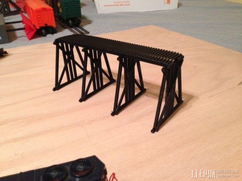 高架桥 火车道 3D模型  图4