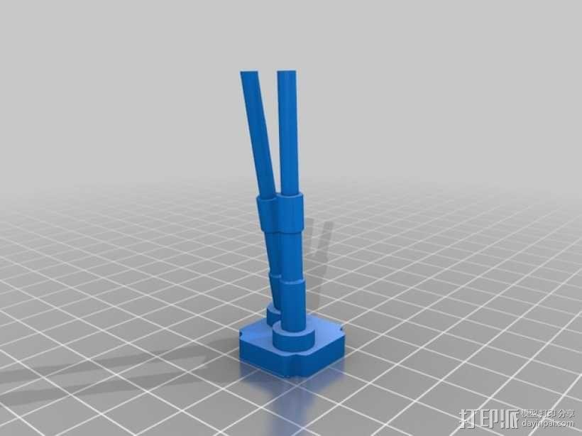 双缸引擎 3D模型  图6