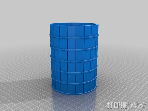 火车道 储水塔 3D模型  图5