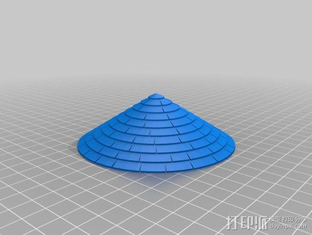 火车道 储水塔 3D模型  图4