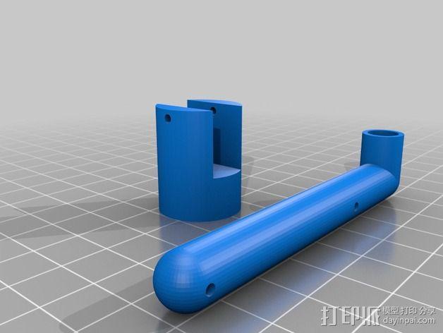 火车道 储水塔 3D模型  图6