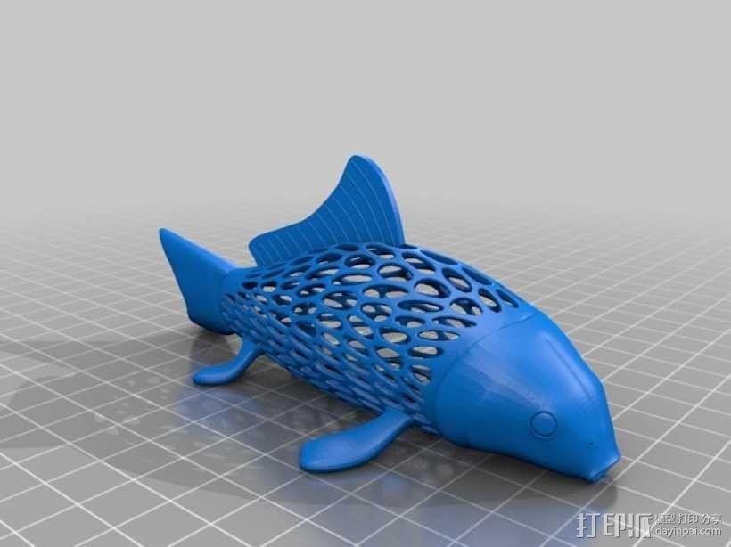 鲤鱼 3D模型  图3