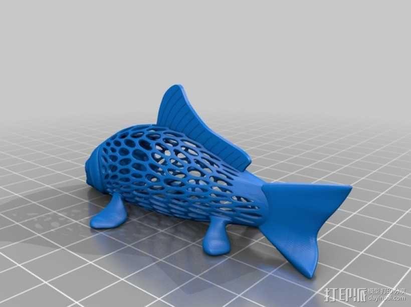 鲤鱼 3D模型  图5