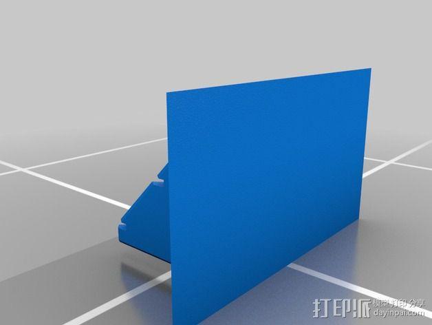 蝙蝠镖展示架 3D模型  图2