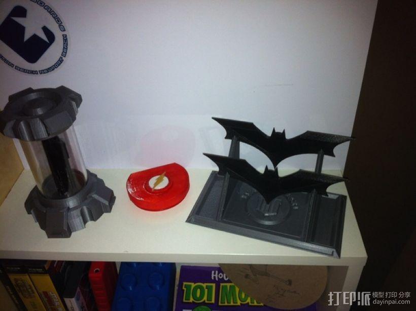 蝙蝠镖展示架 3D模型  图4