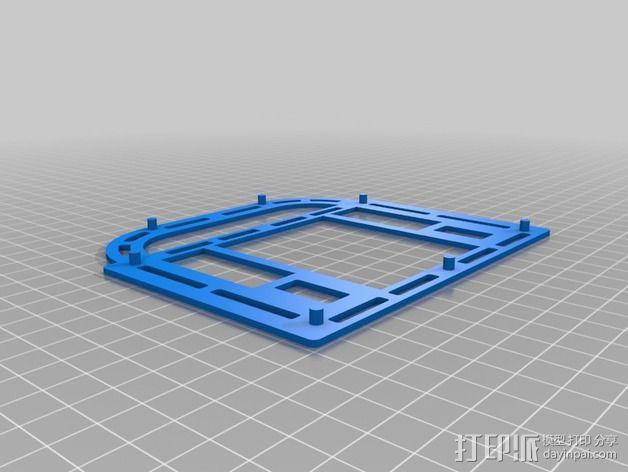 巴洛克式房屋 食品盒 3D模型  图8