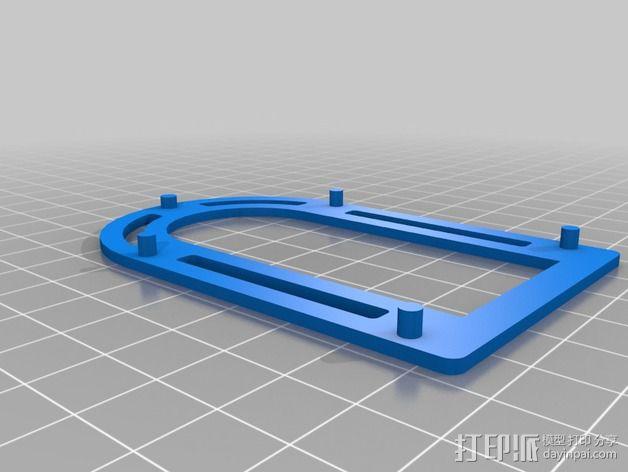 巴洛克式房屋 食品盒 3D模型  图10