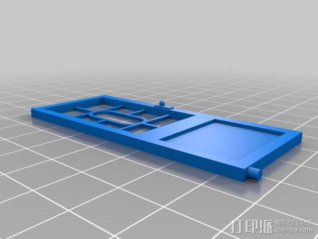 巴洛克式房屋 食品盒 3D模型  图9