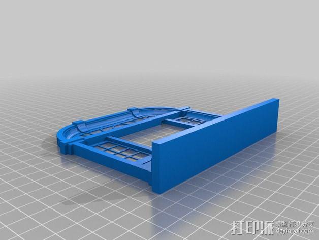 巴洛克式房屋 食品盒 3D模型  图11