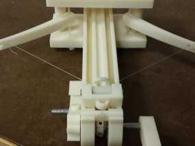 手持扭力弩 3D模型