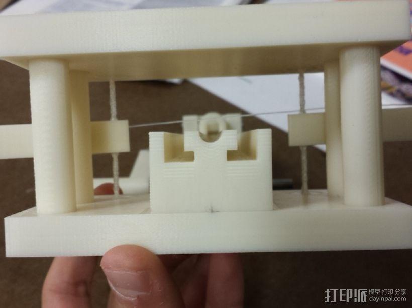 手持扭力弩 3D模型  图3