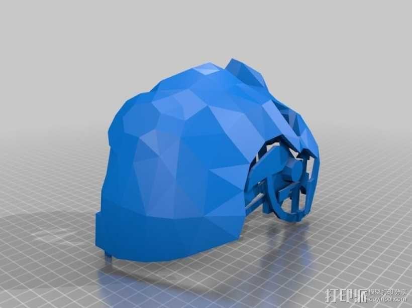 Corvo面具 3D模型  图3