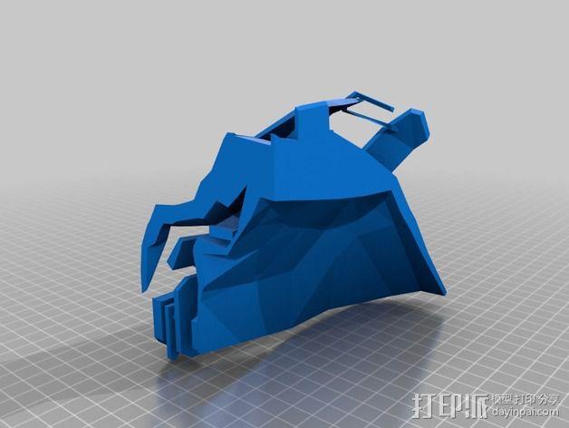 Corvo面具 3D模型  图2