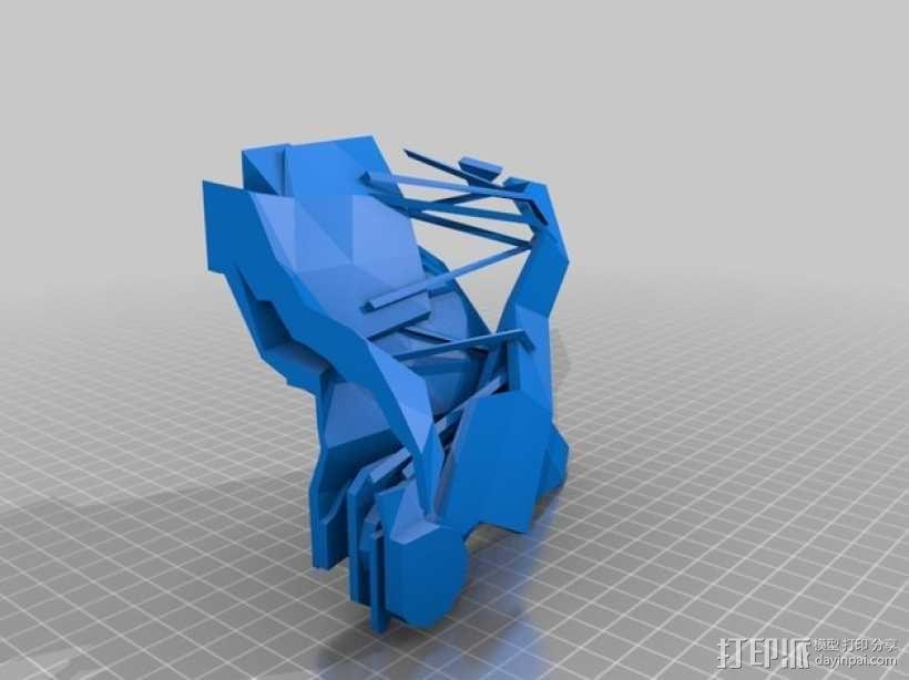 Corvo面具 3D模型  图4