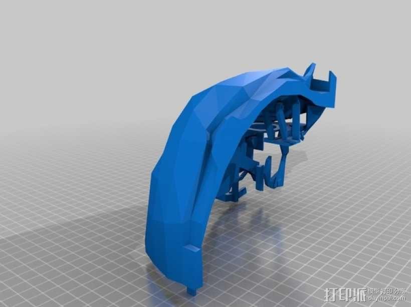 Corvo面具 3D模型  图5