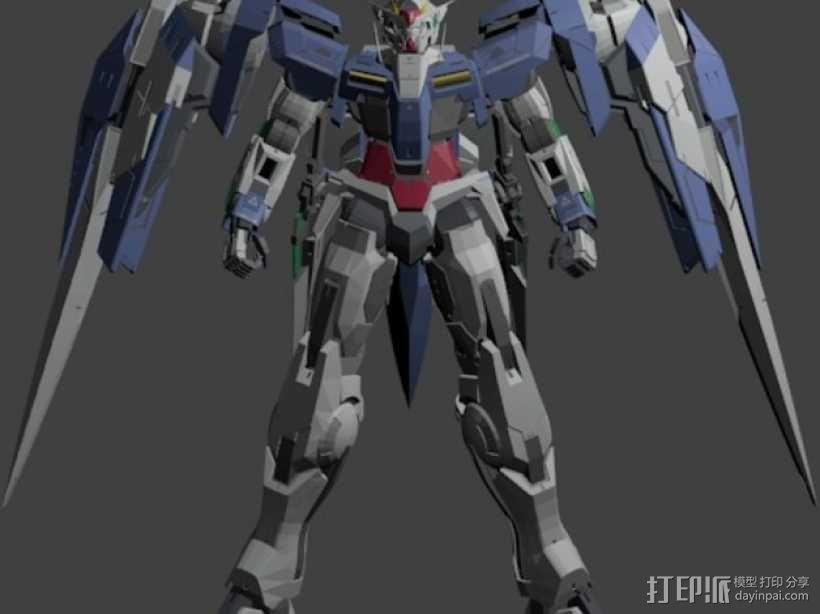 机械战士敢达 3D模型  图1