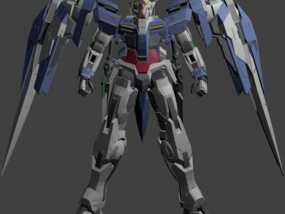 机械战士敢达 3D模型