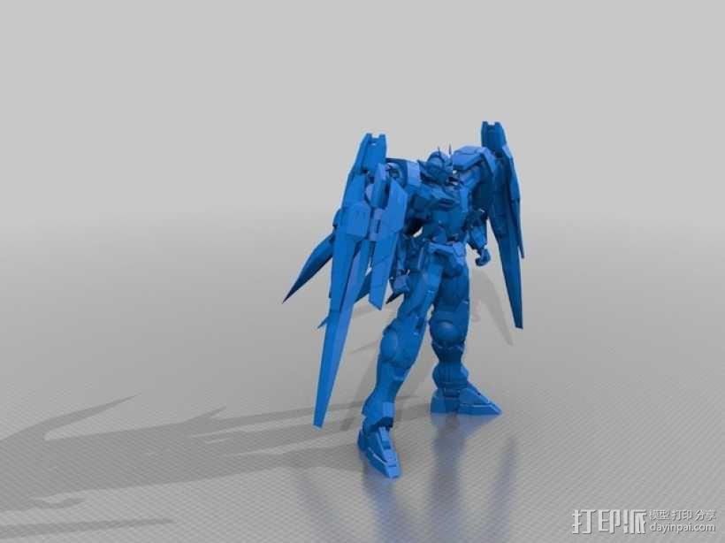 机械战士敢达 3D模型  图2