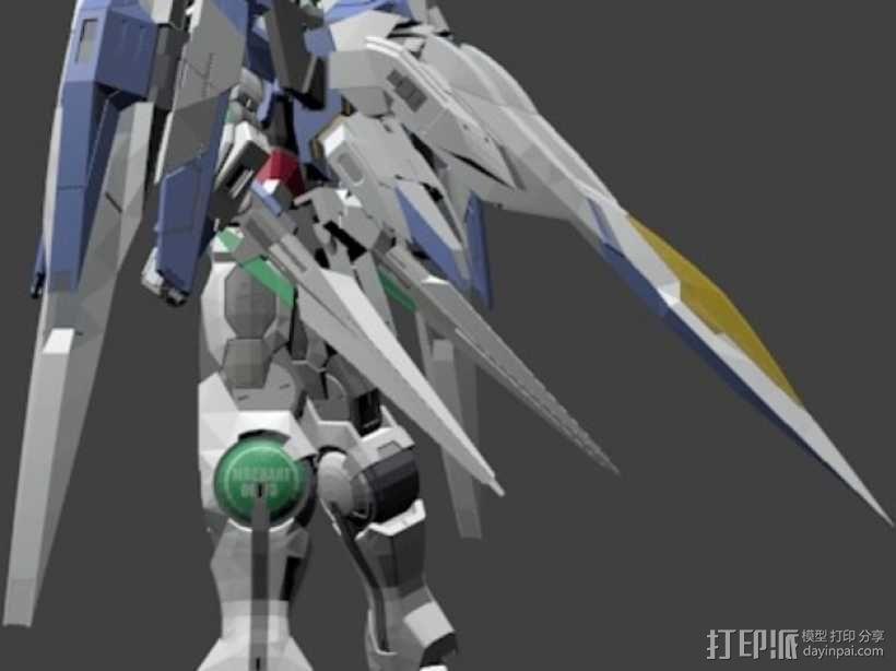 机械战士敢达 3D模型  图5
