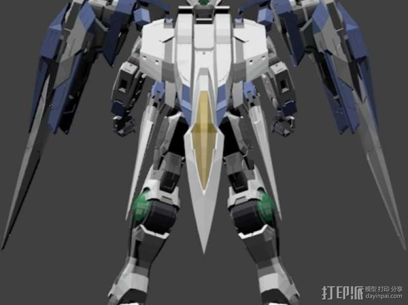 机械战士敢达 3D模型  图6
