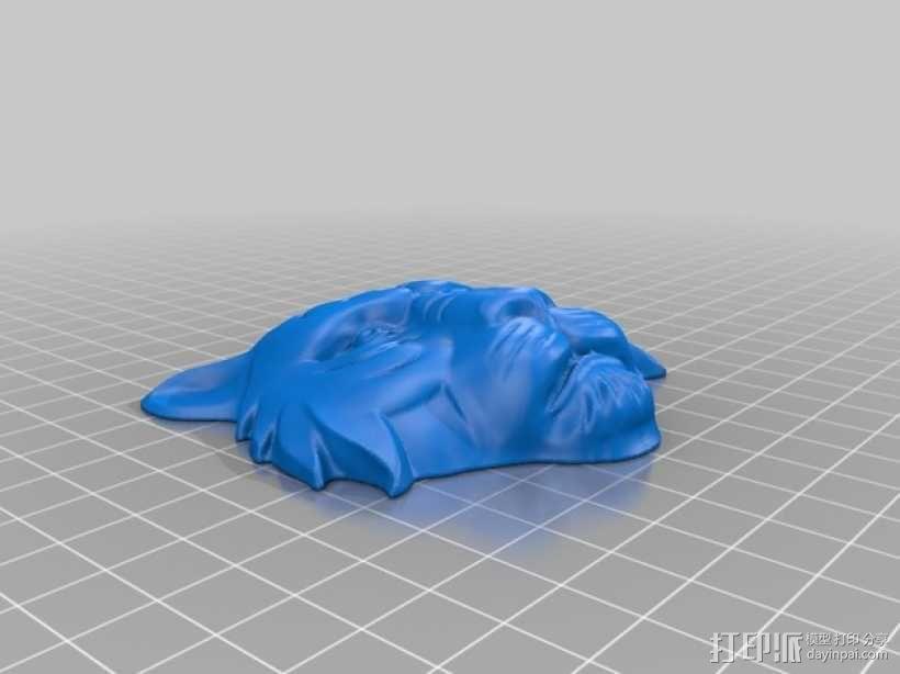 老虎 3D模型  图3