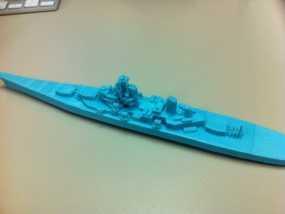 战舰模型 3D模型