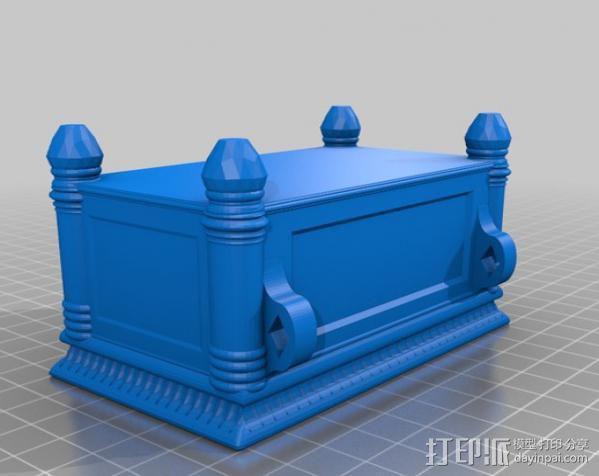 约柜 盒子 3D模型  图7