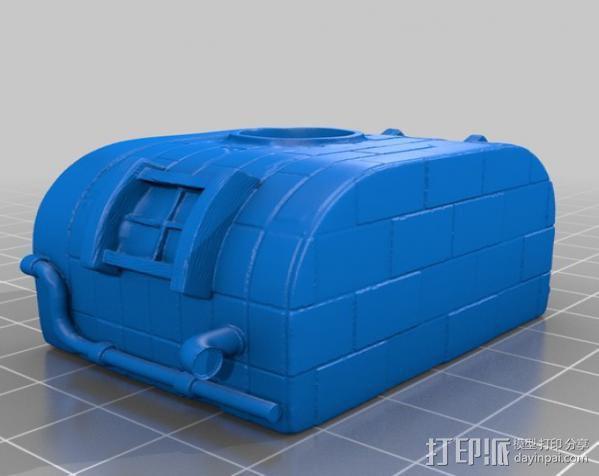 小矮人的树屋 3D模型  图5