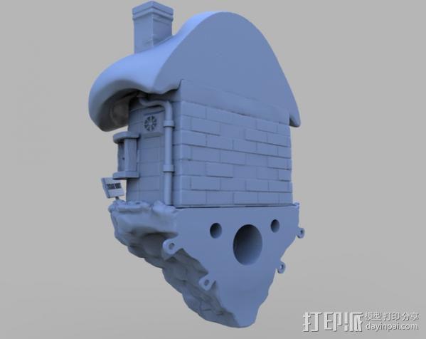 小矮人的树屋 3D模型  图7