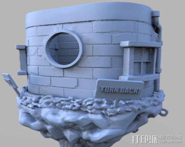 小矮人的树屋 3D模型  图8