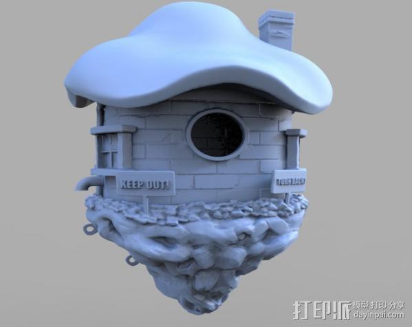 小矮人的树屋 3D模型  图12