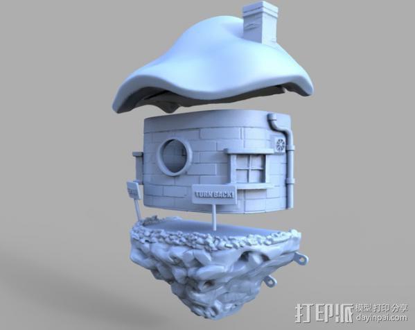 小矮人的树屋 3D模型  图11