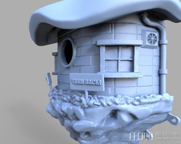 小矮人的树屋 3D模型  图10