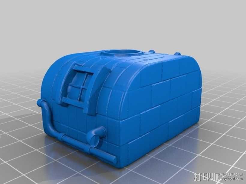 小矮人的树屋 3D模型  图17