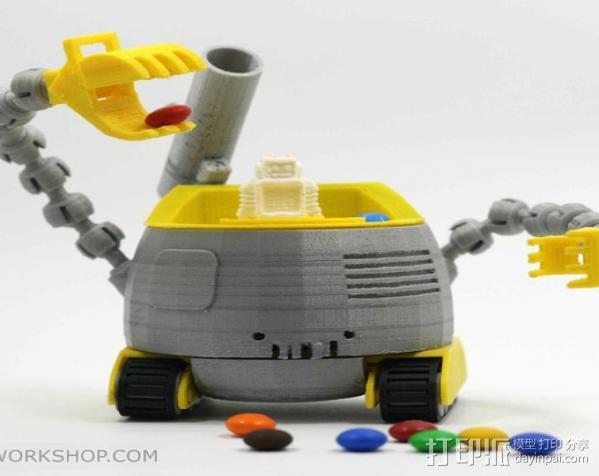 机器人 3D模型  图11