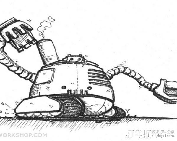 机器人 3D模型  图16