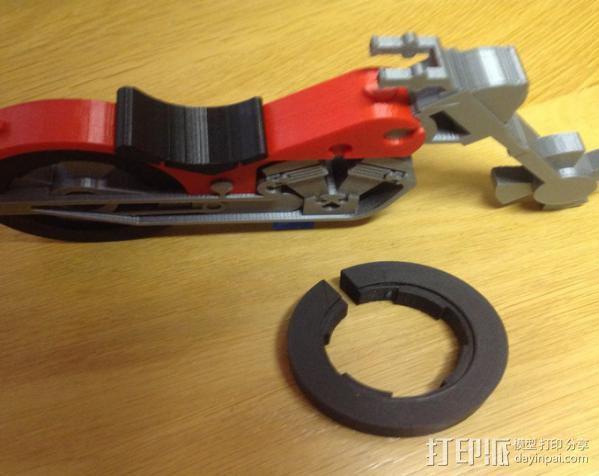 摩托车 3D模型  图11