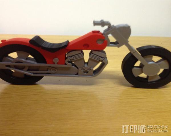 摩托车 3D模型  图12
